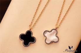 clover leaf necklace images Clover leaf necklace jewelry necklaces pendants jpg