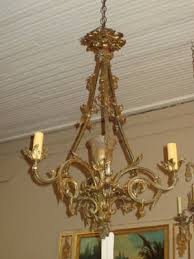 Vintage French Chandeliers Awesome Chandelier En Bronze Pictures Transformatorio Us