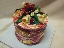 cakes delivered flower cake made royal garden party cake