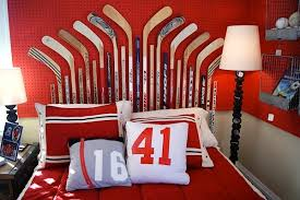 hockey bedrooms 10 awesome sports theme teen rooms kidspace interiors