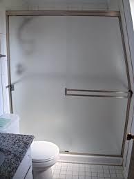 semi frameless shower doors a mirror image custom glass