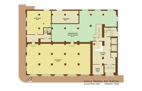 Coffee Shop Floor Plans Historic Medical Arts Building Commercial Floorplans