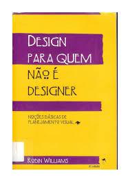 design foto livro para quem não é designer robin williams