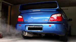subaru sti jdm subaru impreza wrx sti jdm cloudy cold start bijp exhaust youtube