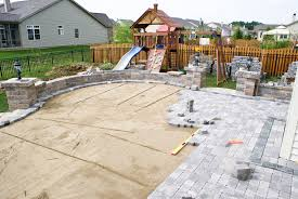 paver designs for backyard astonish the best stone patio ideas 25