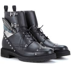 motorcycle boots 2016 designer combat boots for fall 2016 spotted fashion