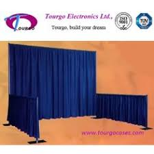Portable Stage Curtain Portable Stage Curtain And Riser For Sale Beyondstage