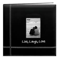 pioneer scrapbooks pioneer 12 by 12 inch embroidered black leatherette