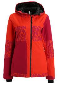 bench doable ski jacket dark orange zalando co uk