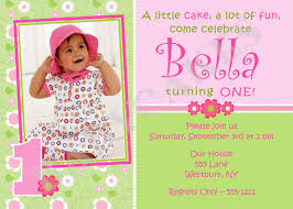 invitation first birthday