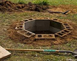 fire pit made of bricks diy projects 15 ideas for using cinder blocks survivopedia