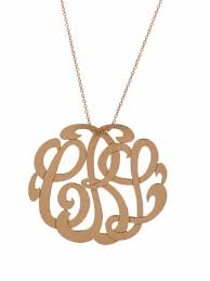 my monogram necklace medium lace monogram necklace by ginette i want one for christmas