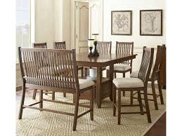 kayan 8 piece counter height dining set belfort furniture pub
