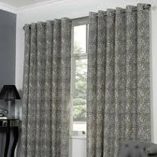 Lined Grey Curtains Grey Zanzibar Lined Eyelet Curtains Dunelm French Doors