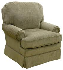 Upholstered Glider Best Home Furnishings Braxton Swivel Glider Club Chair With Welt