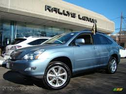 blue lexus 2009 lexus rx 350 awd in breakwater blue metallic 101324