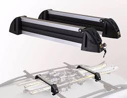 porta snowboard auto porta ski 4 pares ski snowboard aluminio 62cm con llave west