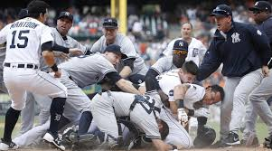 Red Sox Yankees Benches Clear Yankees Tigers Brawl Shows Ugly Side Of Baseball Si Com