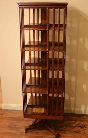 Danner Revolving Bookcase 19th Century American Oak Revolving Bookcase By John Danner The
