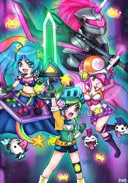 arcade team 1 by kemikuri on deviantart