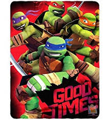 throw by the nickelodeon tmnt we are heroes 46 inch by 60 inch