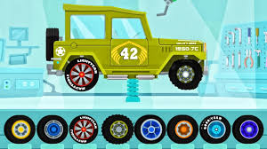 monster truck cartoon videos car driving for kids truck driver car mcqueen monster truck