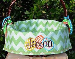 personalized easter basket liners easter basket etsy