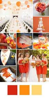 fall wedding color palette fall wedding color palette ideas wedding fanatic