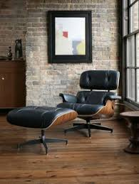 Miller Lounge Chair Design Ideas White Eames Chair And Ottoman Next To An Window