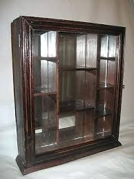Wood Display Cabinets With Glass Doors Wall Mount Display Cabinet Wall Mounted Display Black Wall