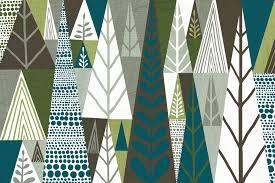 geometric wall mural wall murals you ll love geometric forest green wall murals wallpaper wallsauce