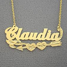 brand name necklace images Name necklace claudia personalized gold jewelry jpg