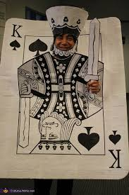 Queen Spades Halloween Costume King Spades Card Halloween Costume