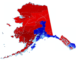 Alaska Population Map by Alaska Results Map By House District