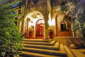 hacienda lighting fachada principal de la hacienda santa rosa de