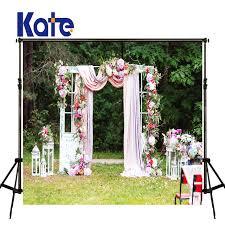 wedding backdrop outdoor kate photography backdrops flower wedding background white door