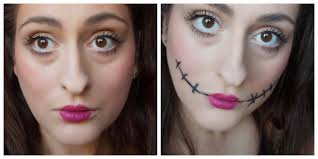 Make Up For Halloween Cute And Creepy Doll Makeup For Halloween Beauty Lifestyle