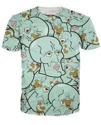 squidward t shirt
