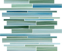 rip curl hand painted linear glass mosaic tiles glass mosaic