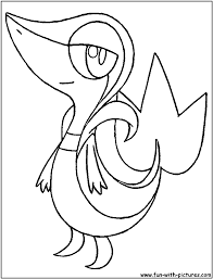 pokemon coloring pages snivy www bloomscenter com