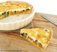 Spinach Quiche With Cottage Cheese by Exclusively Food Pumpkin Spinach And Feta Quiche Recipe