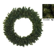 48 canadian pine artificial wreath unlit walmart