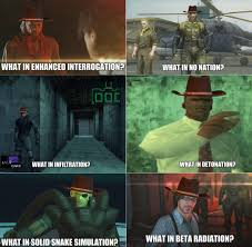 Metal Gear Solid Meme - made some more what in tarnation variations metalgearsolid mgs
