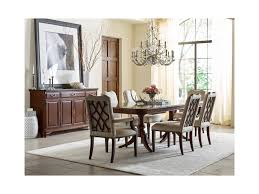 kincaid furniture hadleigh traditional double pedestal dining