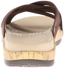 lego crocs crocs edie stretch women u0027s sandals brown espresso
