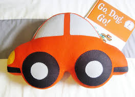 Car Themed Home Decor Car Shaped Large Felt Pillow Boy U0027s Room Decor