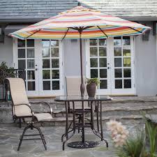 Treasure Garden Patio Umbrellas by Treasure Garden 9 Ft Sunbrella Aluminium Auto Tilt Patio Umbrella