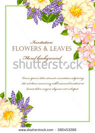 All About Flowers - abstract flower background place your text stock vector 380453260