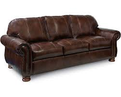Sofas Living Room Thomasville Furniture - Leather 3 seat sofa
