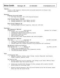 Cnc Machinist Resume Samples by Sewing Machinist Resume Sample Contegri Com